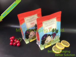 Box Pouch; Flat-Bottom Zipper Bag for Dry Food pictures & photos