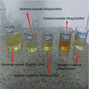 Pre-Mixed Anabolic Steroid Oil Testosterone Sustanon 250 300mg for Muscle Strength pictures & photos