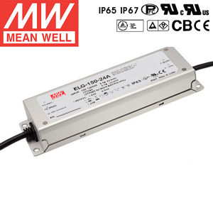 Taiwan Meanwell Waterproof LED Power Supply Elg-150-24A pictures & photos