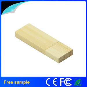 Eco Friendly Biodegradable Wooden Rectangle USB Memory Stick pictures & photos