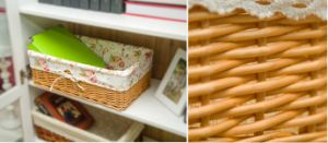 Handmade Wicker Storage Basket with Eco-Friendly (BC-ST1001) pictures & photos