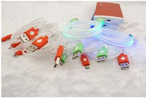1m Colorful LED USB Charge Cable Micro pictures & photos