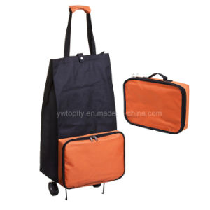 Foldable Grocery Luggage Cart with PP Wheels pictures & photos