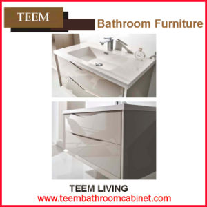 Yes Include Basin and Vanity Combo Type Solid Wood Bathroom Furniture pictures & photos