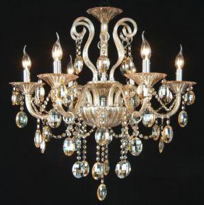 Villa Amber Crystal Chandelier Light (KA8005-6) pictures & photos