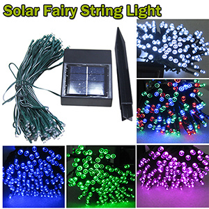 Solar LED Christmas Fairy String Light with Different Colors pictures & photos