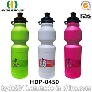 Customized Logo BPA Free PE Sports Water Bottle (HDP-0450) pictures & photos