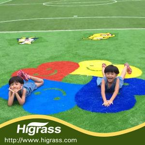 blue Landscaping Decorative Artificial Grass pictures & photos