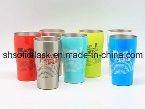 400ml Stainless Steel Double Wall Coffee Cup Sdc-400b pictures & photos