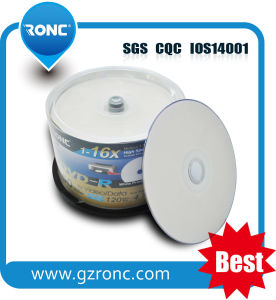 4.7GB 120min 16X a+ Material White Inkjet Printable Blank DVD-R pictures & photos