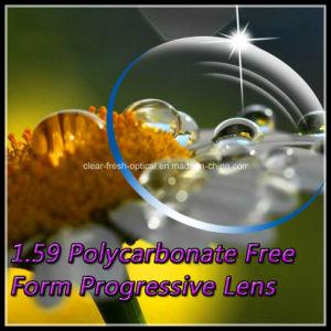 1.59 Polycarbonate Free Form Progressive Lens