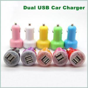 High Quality 2 Ports USB 2.1A+ 1A Car Charger Adapter pictures & photos