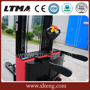 Hot Selling Low Cost 2 Ton Hydraulic/Manual Electric Stacker pictures & photos