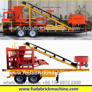 Brick Machine Trailer, Trailer Combine with Brick Machine pictures & photos