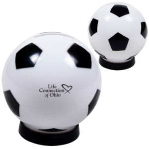 Plastic Soccer Saving Bank (PM231) pictures & photos