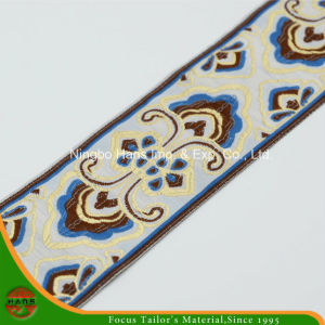 Polyester Trimming Lace Tape (HM-1512) pictures & photos
