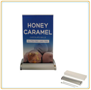 A3, A4 Newly Desktop Banner Stand/Mini Roll up Display pictures & photos