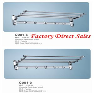 Chroming Color Bathroom Accessories Towel Rack (C001-5) pictures & photos