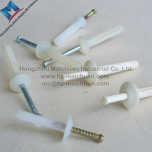 China Supply Mushroom Head Nylon Plastic Expansion Anchor pictures & photos