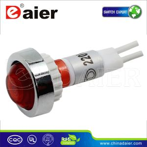 10mm LED Motorcycle Indicator Light 120V, Indicator Lamp (XD10-7W) pictures & photos
