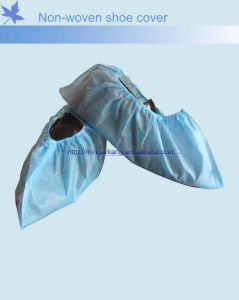 Disposable PP Non Woven Shoe Cover for Hospital Use pictures & photos