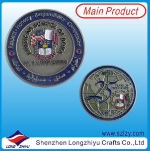 Antique Silver Coins with Custom 3D Logo pictures & photos