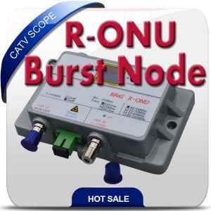 Single Mode Built in Wdm Burst Node Rfog