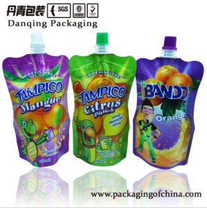 Drink Stand up Pouch with Spout, Fruit Juice Plastic Bags pictures & photos
