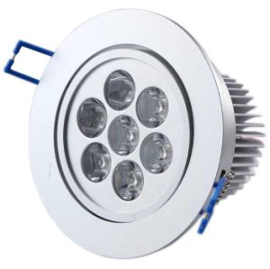 Cool/White/Warm7w LED Ceiling Light COB LED Downlight pictures & photos