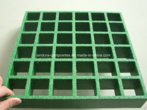 GRP/FRP Walkway Grating FRP/GRP Decorative Gratings/FRP Custom Molded Grating
