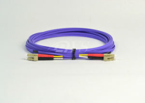 LC-LC Om4 Duplex Optical Patch Cord pictures & photos