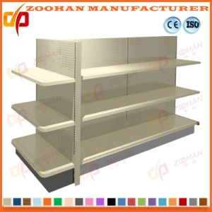 Industrial Metal Wall Gondola Shelving Supermarket Display Storage Shelves (Zhs375) pictures & photos