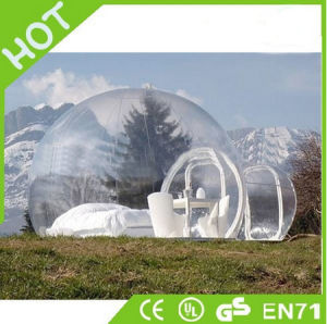 Hight Quality 0.55-0.9mm PVC Inflatable Clear Bubble Tent, Inflatable Tent, Star Tent pictures & photos