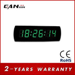 [Ganxin] 7segment LED Modern Wall Clock Digital Fitness Timer pictures & photos