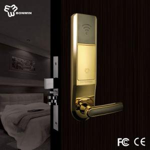 Smart Electronic Hotel Door Lock Unlocked Via RF Card pictures & photos