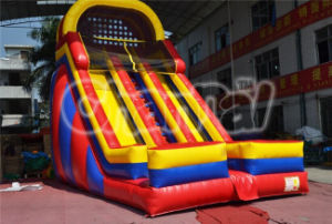 Commercial Double Lane Inflatable Dry Slide (CHSL509) pictures & photos