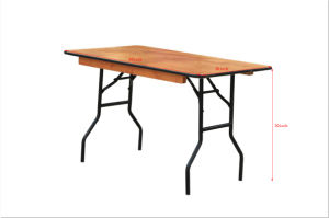Discount Promotion Plywood Folding Table on Sale pictures & photos