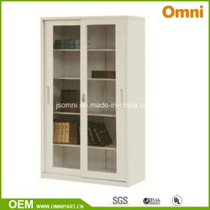 Glass Sliding Doors Office Vertical Storage Cabinet (OMNI-XT-06) pictures & photos