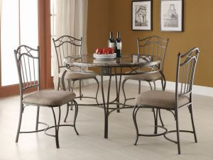 Metal Dining Furniture with Powder Coating Painting pictures & photos