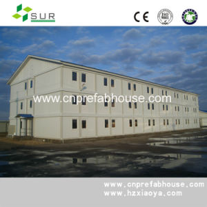 Three Storey EPS Sandwich Panel Prefabricated House pictures & photos