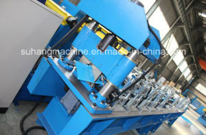 0.3mm - 0.8mm High Speed Ridge Cap Roll Forming Machine pictures & photos