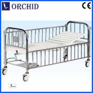 Hospital 1-Crank Manual Infant Bed (BCE08-V)