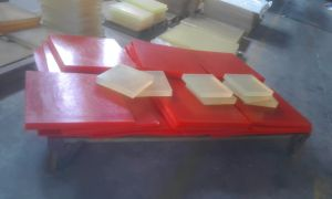 Red Polyurethane Sheet, PU Sheet with 100% Polyether pictures & photos