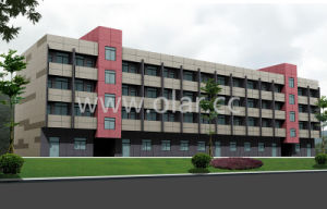 Colorful Exterior Cladding or Facade pictures & photos