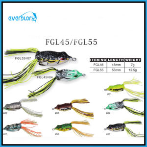 Multi Attractive Color Hand Made Frog Lure Fishing Lure pictures & photos