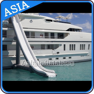 Inflatable Yacht Slide, Houseboat Slide Game, Inflatable Yacht Floating Water Slide pictures & photos