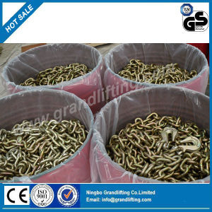 G70 Galvanized Transport Chain with Grab Hook pictures & photos
