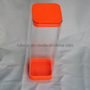 Packing Plastic Square Tube with Caps