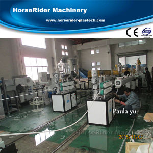 Small Size PE Pipe Extruder Machine (9-11mm) pictures & photos
