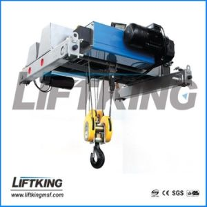 Double Beam European Electric Wire Rope Hoist pictures & photos